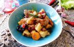 Цимес – рецепт с мясом и картофелем