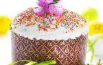 Пасхальный пирог-кулич