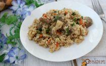 «рис» из цветной капусты в мультиварке