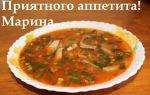 Суп с килькой в томатном соусе в мультиварке