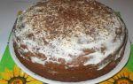 Пирог «трухлявый пень» в мультиварке