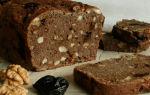 Сладкий хлеб рецепт с орехами и семечками