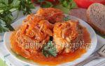 Минтай в томатно-овощном соусе в мультиварке