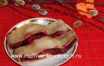 Паровой рулет с ягодами