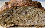 Хлеб из цельнозерновой муки с отрубями в духовке