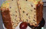 Кекс-кулич в хлебопечке