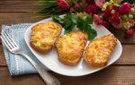 Горячие луковые гренки с сыром и зеленью